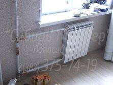 Замена батарей отопления на полипропилен/металлопластик в Новосибирске цены. 375-74-19