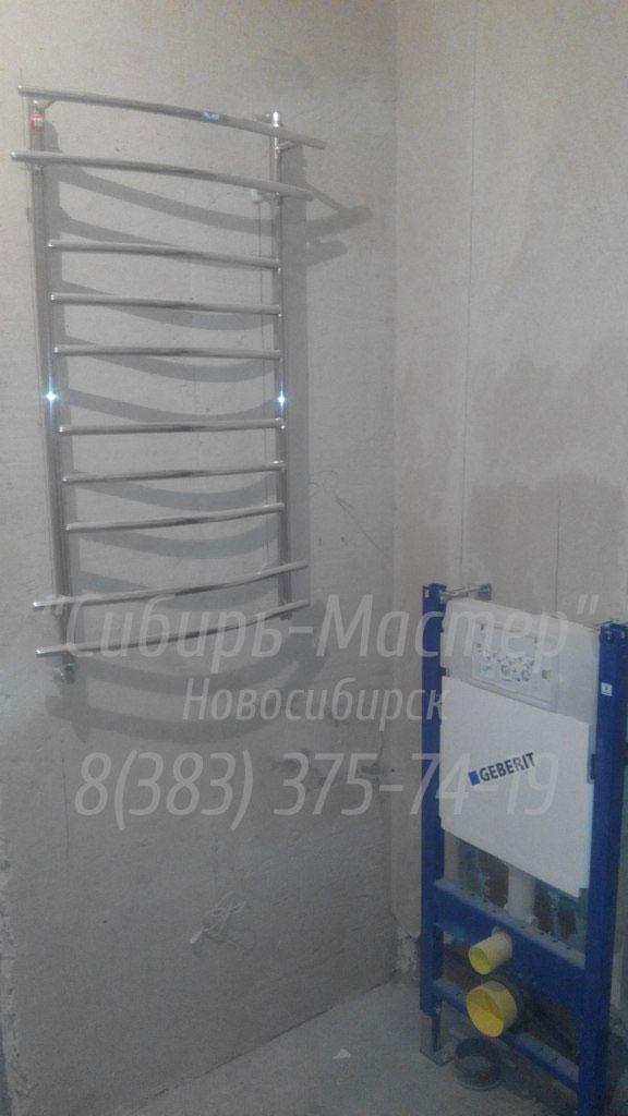 замена полотенцесушителя в ванной от 1500 руб. Сибмастер 375-74-19