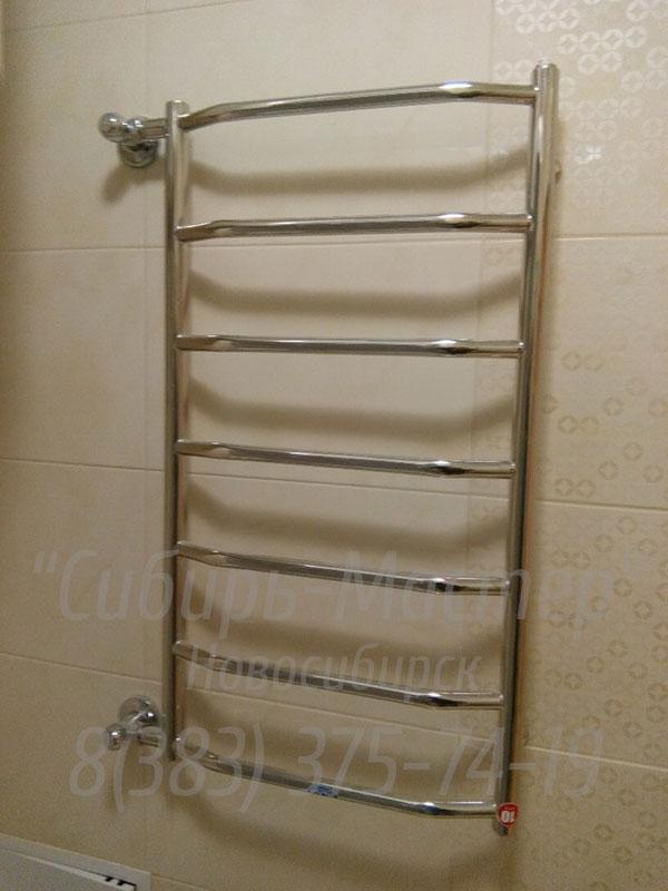 замена полотенцесушителя в ванной цена - от 1500 руб.