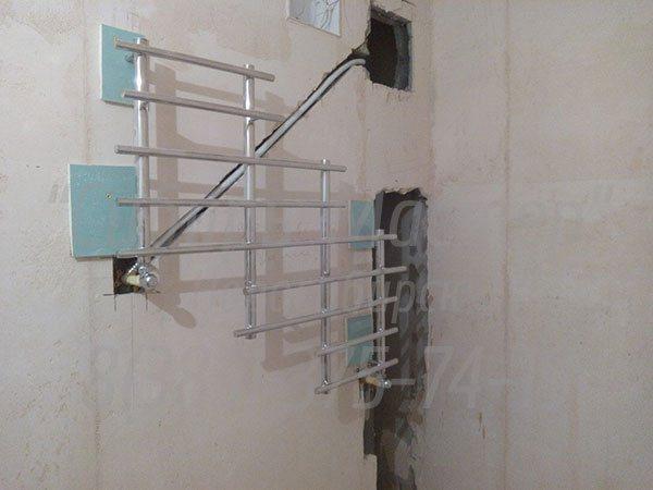 сколько стоит замена полотенцесушителя в Новосибирске - 1500 руб. Сибмастер 375-74-19