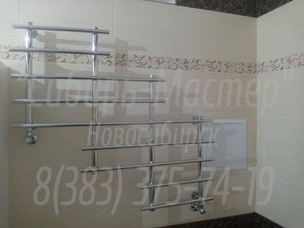 сколько стоит замена полотенцесушителя в ванной в Новосибирске - от 1500 руб. Сибмастер 375-74-19