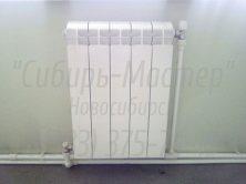 Замена (демонтаж/монтаж) батареи отопления на сварку 1 шт — 3000 руб в Новосибирске. Сибмастер 375-74-19