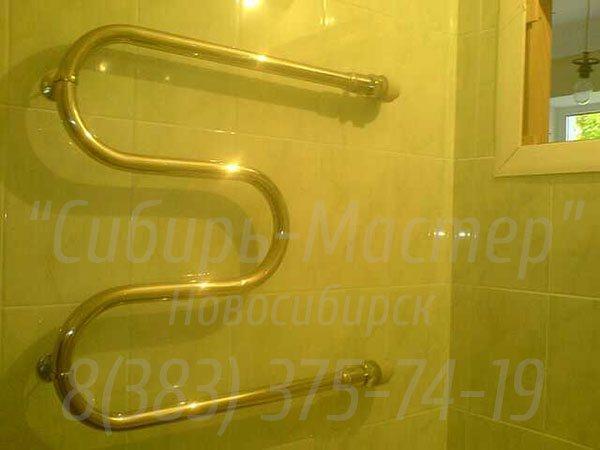 установка полотенцесушителя новосибирск - Сибмастер 375-74-19