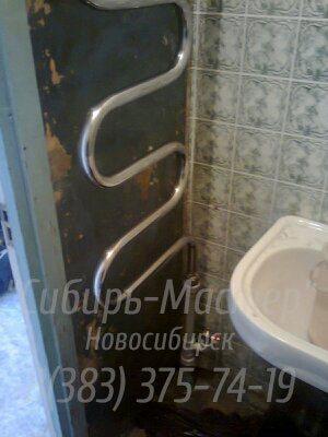замена полотенцесушителя в Новосибирске. Сибмастер 375-74-19